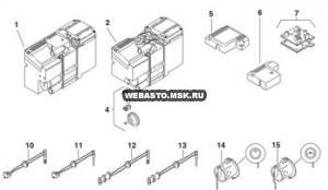 графический каталог запчастей для Thermo Top DW 50 дизель 12v