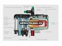 Схема Webasto Thermo Top Evo Start дизель 12 Вольт+аналоговый догреватель